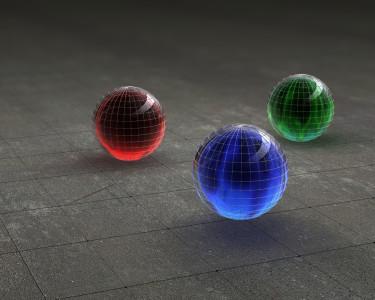 Tapeta: Three colors