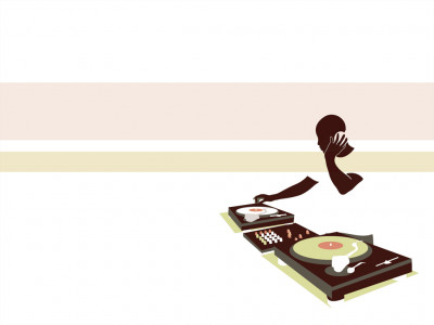 Tapeta: DJ