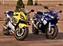 Tapeta Honda a Yamaha