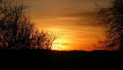 Tapeta: a další západ slunce