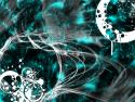 Tapeta Abstract blue