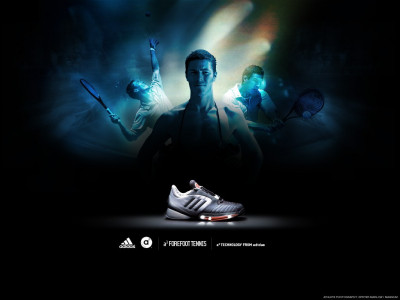 Tapeta: Adidas Tennis