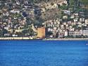Tapeta Alanya-Červená věž