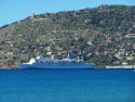 Tapeta Alanya-přístav