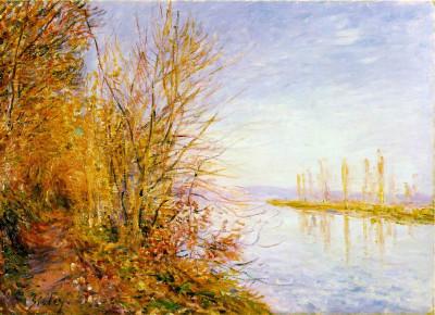 Tapeta: Alfred Sisley 5