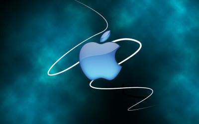 Tapeta: Apple Blue