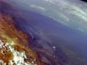 Tapeta Argentina z vesmíru