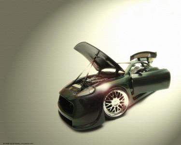 Tapeta: Aston Martin Vanquish - Tuning