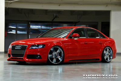 Tapeta: Audi A4 by Rieger