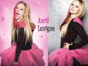 Tapeta Avril Lavigne Black Star