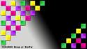 Tapeta barevna sachovnice - ZienTek