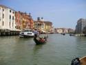 Tapeta Benátky, Gondola