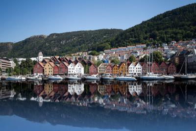 Tapeta: Bergen, Norsko