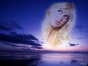 Tapeta Blondýna v nebi