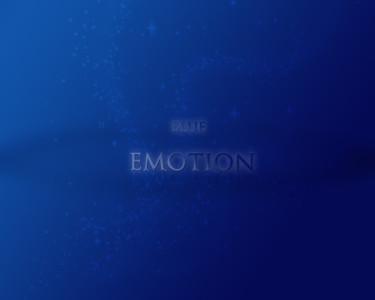 Tapeta: blue emotion
