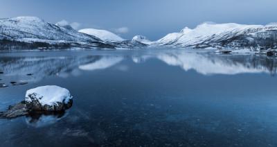 Tapeta: Botn, Troms Fylke
