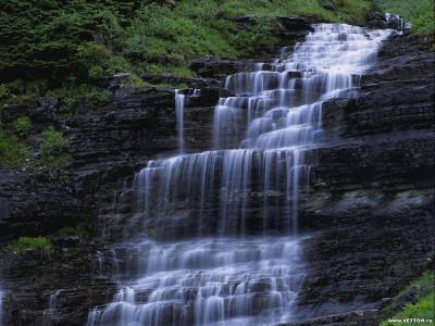 Tapeta: Bouřící vodopády 6