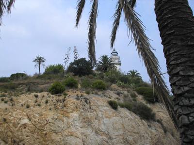 Tapeta: Calella-maják 2