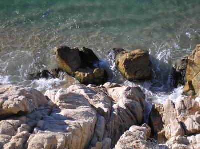 Tapeta: Calella-malý útes 2