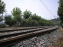 Tapeta Calella-trať do Barcelony