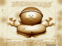 Tapeta Cartman da Vinci