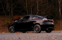 Tapeta černý Opel Tigra