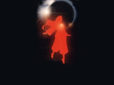 Tapeta: Červená fantazie