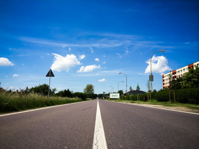 Tapeta: Česká silnice