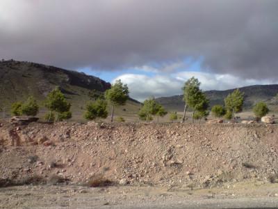 Tapeta: Cesta k Sierra Nevada