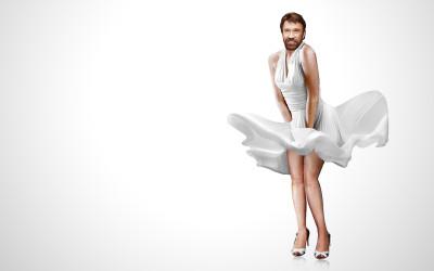 Tapeta: Chuck Norris jako Marylin