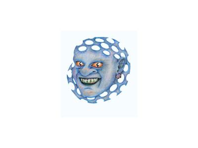 Tapeta: Cin modrý