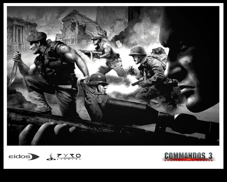 Tapeta commandos34