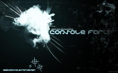 Tapeta: Console Forum Wallpaper