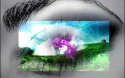 Tapeta crystal eye