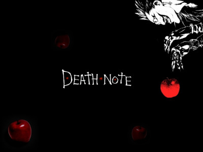 Tapeta: death note - apple