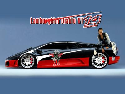 Tapeta: Lamborghini Diablo by Dragons
