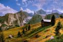 Tapeta Dolomity (4)