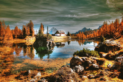 Tapeta: Dolomity (9)