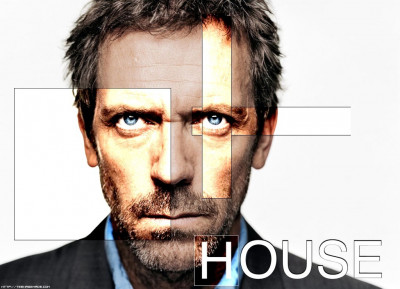 Tapeta: dr house - hugh laurie
