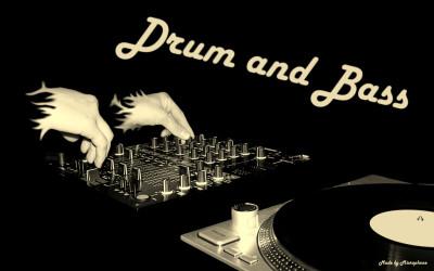 Tapeta: drum & bass