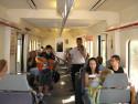 Tapeta E-Calella-vlak do Barcelony