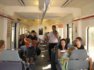 Tapeta: E-Calella-vlak do Barcelony