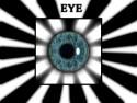 Tapeta Eye in aurora