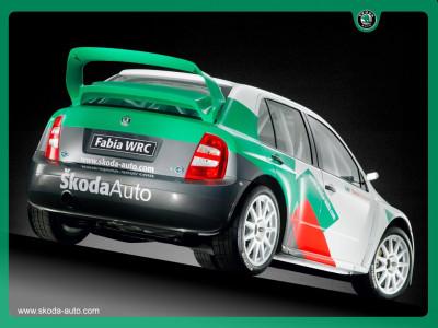 Tapeta: Fabia WRC 2