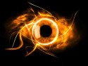 Tapeta Fire eye