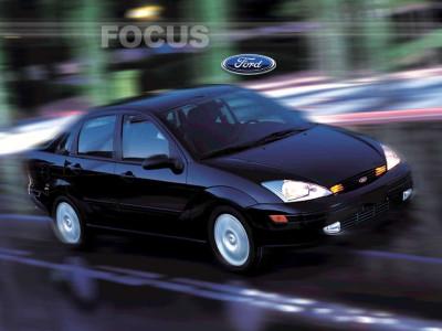 Tapeta: Ford Focus 1