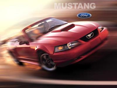 Tapeta: Ford Mustang 2