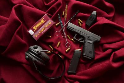 Tapeta: Glock 19 zátiší