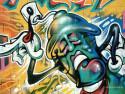 Tapeta Grafit