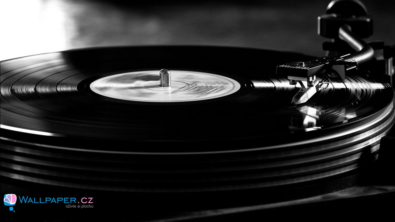 Tapeta gramofon_wallpaper_cz